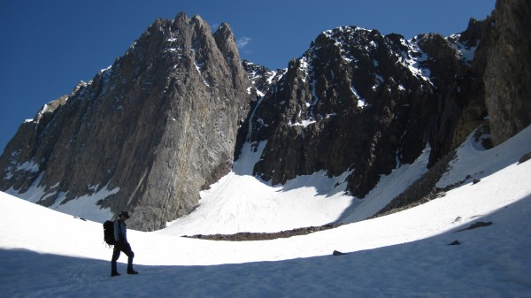 John Mendenhall's 1931 route (in lean snow conditions). (June 8, 2011)