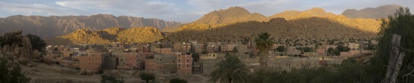 panorama of Tafraoute