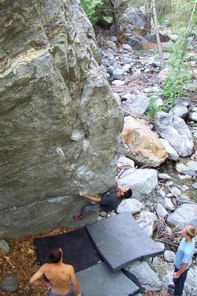 Goat Sloper (2nd ascent) photo Rob Mulligan