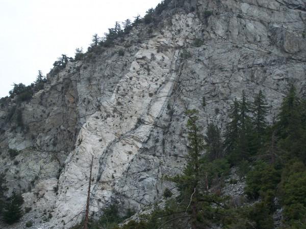Strawberry Peak  <br/> north face