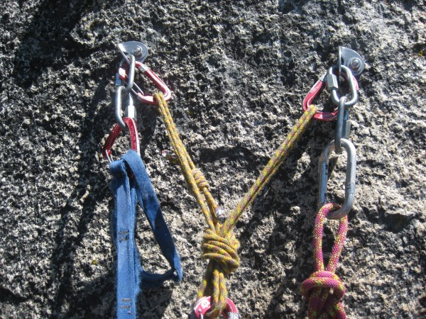 Pitch 3 and pitch 4 both have bolted anchors.