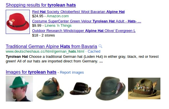 google search: tyrolean hats
