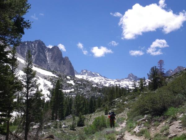 N Fork Big Pine trail