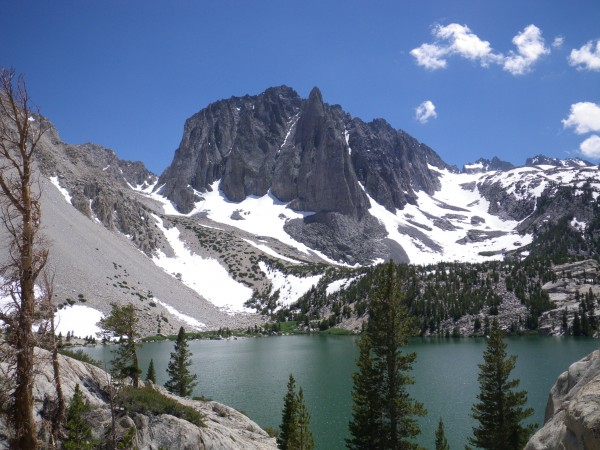 Temple Crag, from near Second Lake