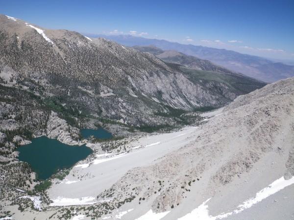 View down-canyon