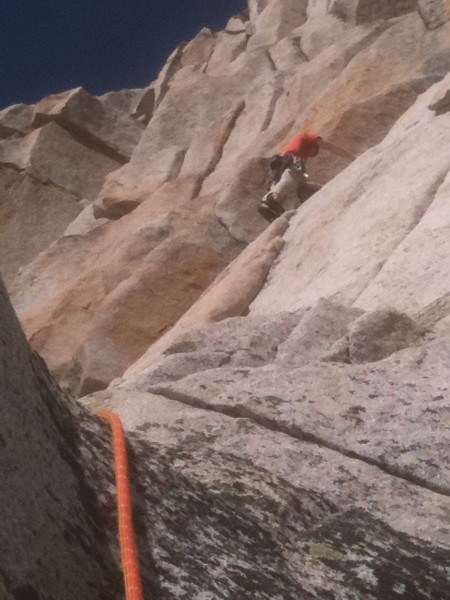 Andrew leading pitch 2