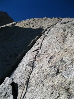 Stephen led this lovely crack