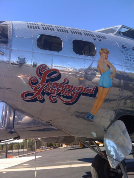 Sentimental Journey Nose Art