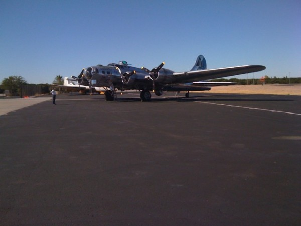 Sentimental Journey - B-17 - Mesa, AZ.