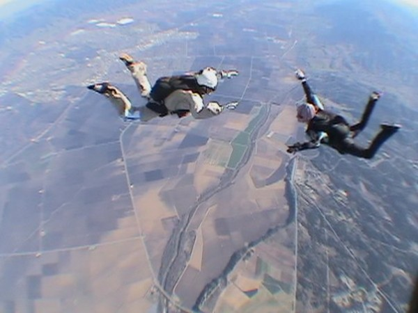 logging flight time with Laura Mullen <br/> first skydive 1966 on a Double...