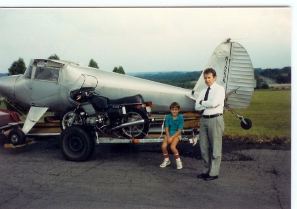 1946 Luscombe 8A, my first airplane in 1981