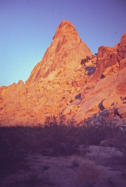 White Fang east face, Granite Mtns. mid-1960's
