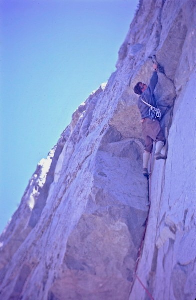 Ray Palmer, North Face Strawberry Peak 1968