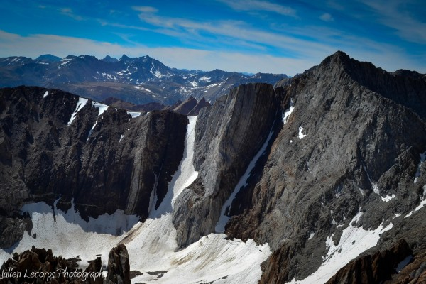 Peak 13,112, kindergarden chute and the notorious Checkered Demon Coul...
