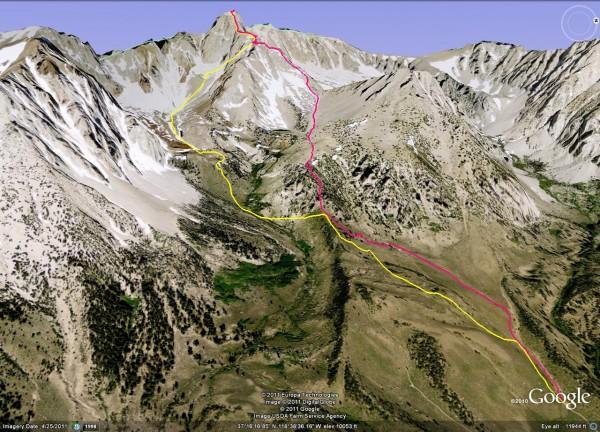 Mt Humphreys 13,986 feet, East Ridge. Trailhead @ 9,200feet.  Ascent i...