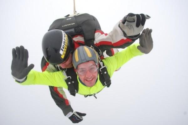 First jump!