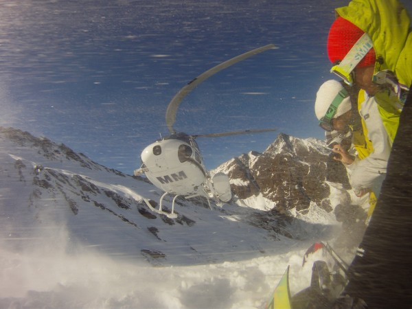 Heli-Boarding in New Zealand