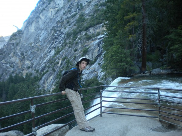 Vernal falls--not really that scared of the exposure--so I was hopeful...