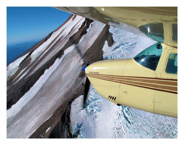 Flyby of Mt. Shasta