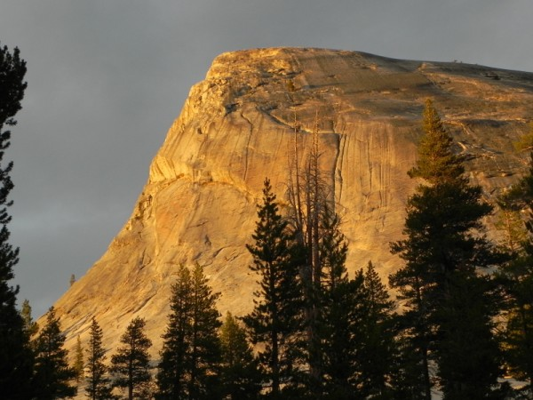 Lembert dome at sunset