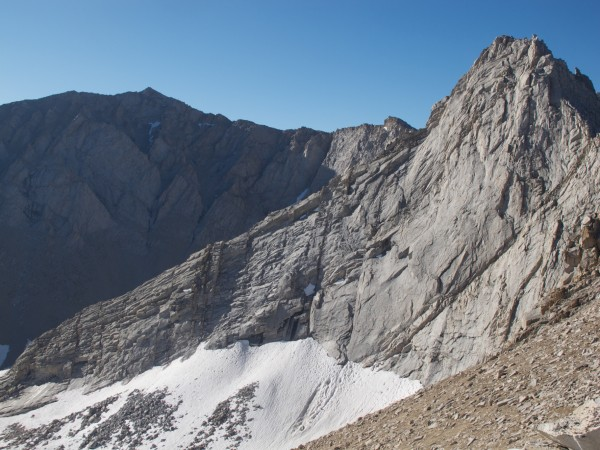 The East Ridge of Mt Carl Heller from Vacation Pass