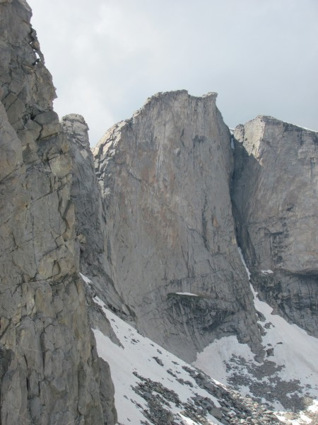 Buttress on the East side of Hooker.