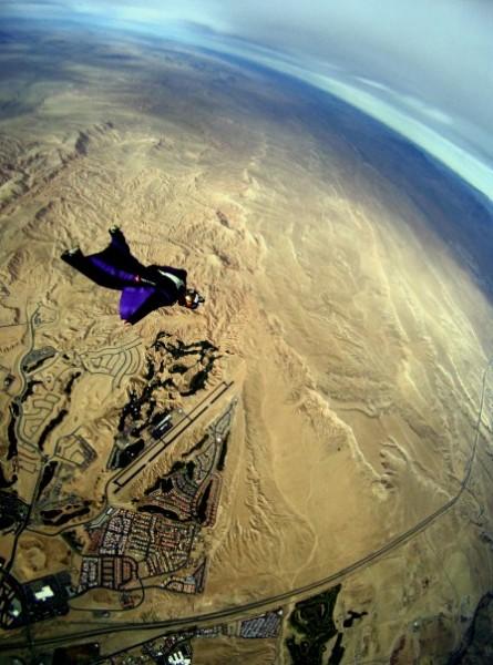 Over Mesquite, NV - Photo: Mario Richard