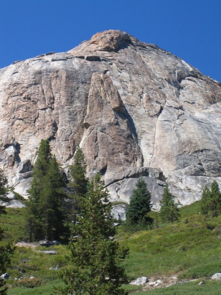 &quot;Obelisk Lite&quot;  the South Face of Hoffman Mt.