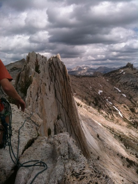 Another shot of Matthes ridgeline