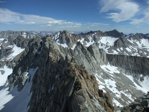 traverse to 13,332 (the crux)