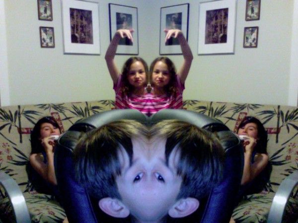 Silly kids..