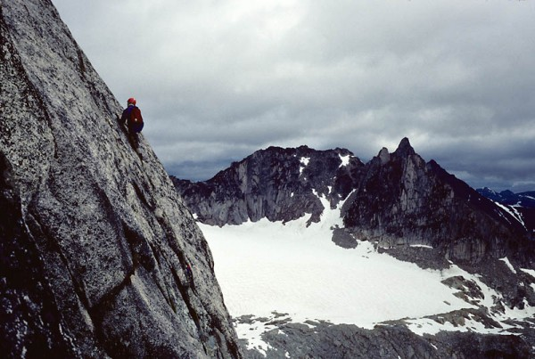 Snowpatch Spire, Bugaboos, over 30 years ago