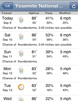 The weather report later that week (storm risk was upgraded significan...