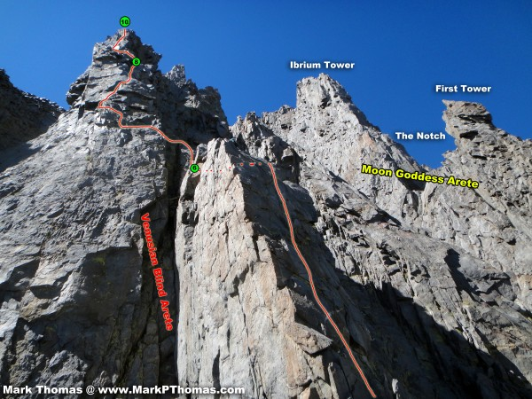 P6-P10 of VBA. P7 was one of the best pitches of the route. Complex, v...