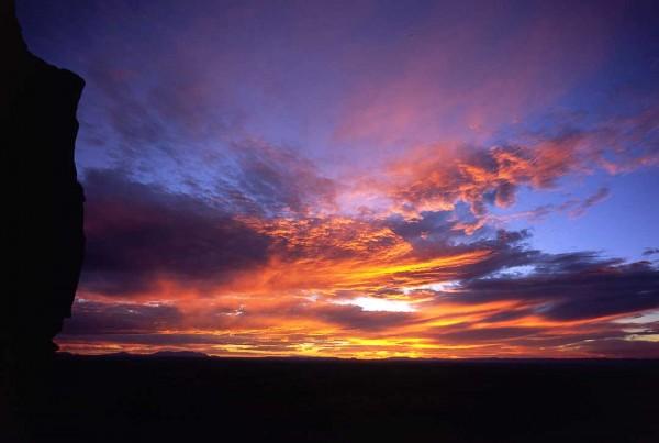 Sunset, near Moab