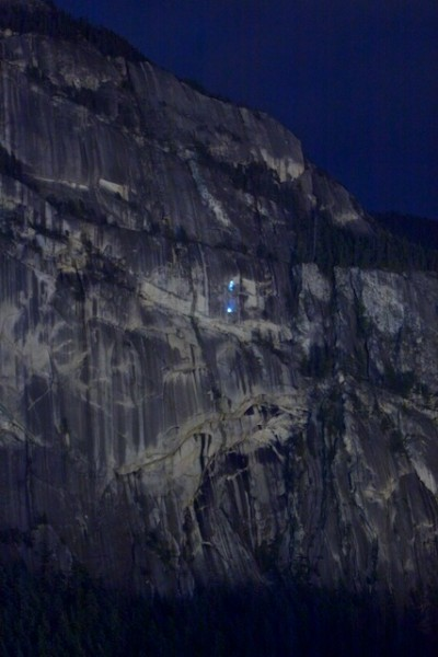 New Routing on the Chief this summer - night time action - Matt Maddol...