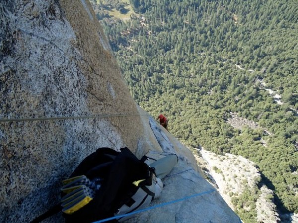 Cleaning the traverse on pitch 12